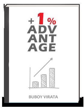 +1% Advantage