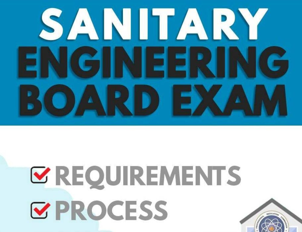 Sanitary Engineering Board Exam Application — PRC Requirements, Process, Costs