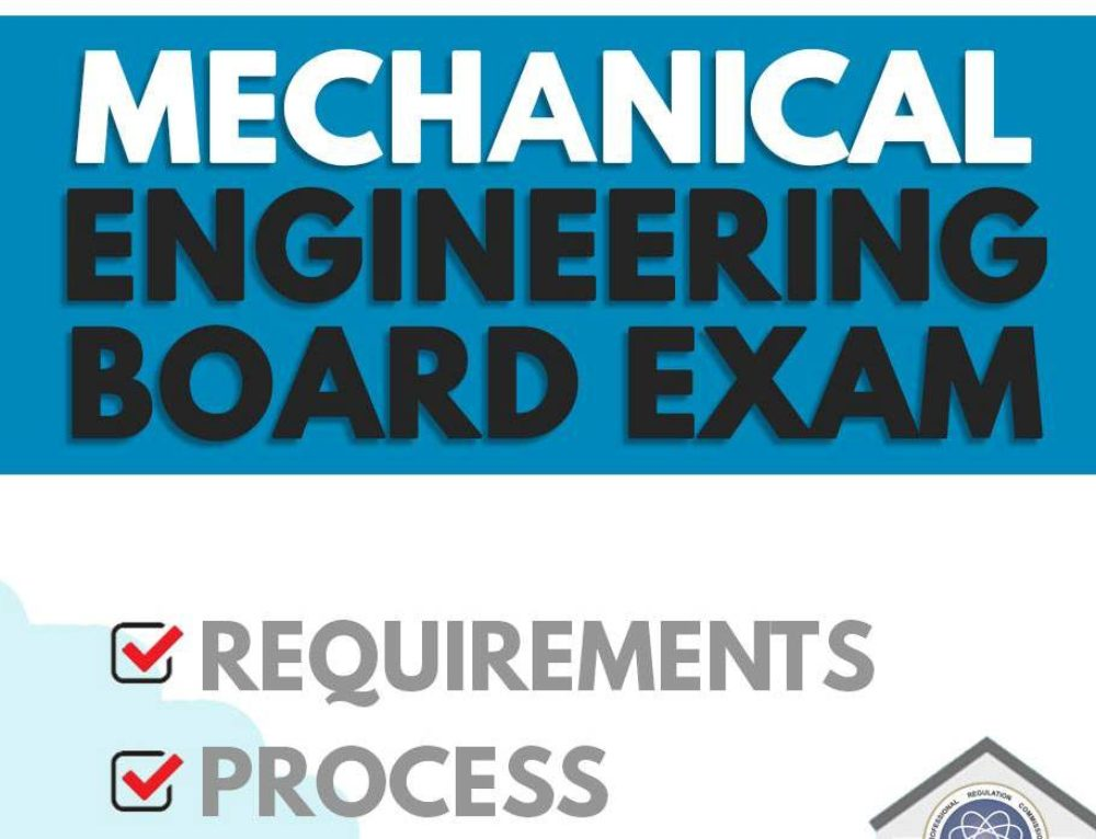 Mechanical Engineering Board Exam Application — PRC Requirements, Process, Costs
